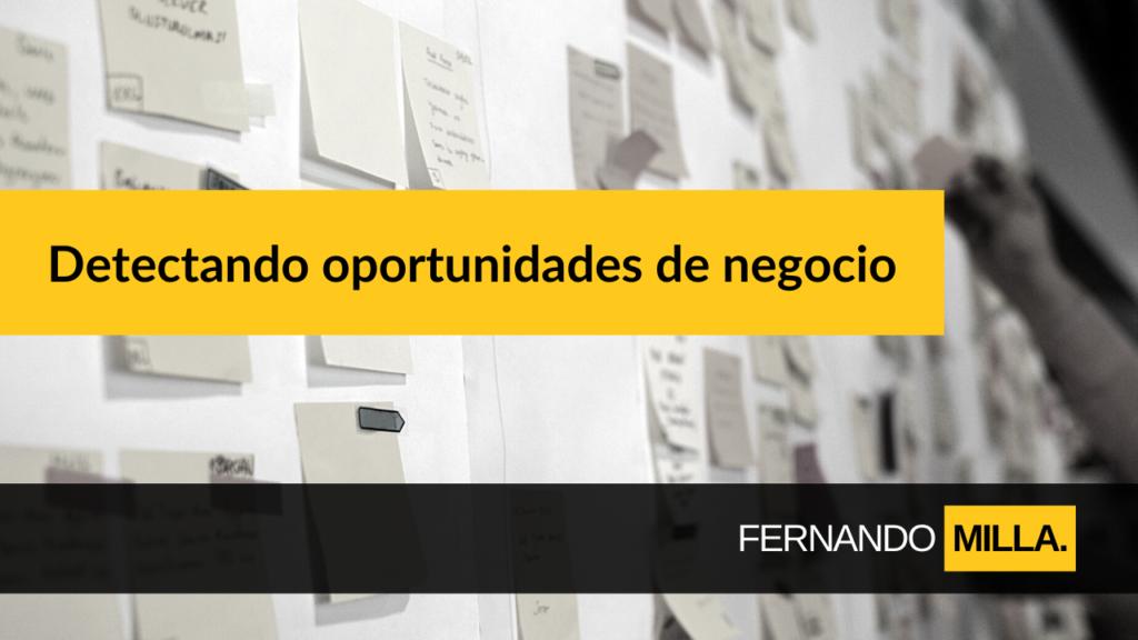 Detección oportunidades emprendedoras Castrillon